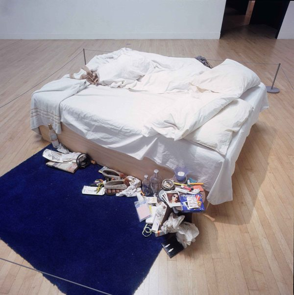 Tracey Emin. MY BED. 1998.